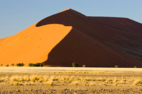 Light and shade.. Sand Dumes Namibia.
